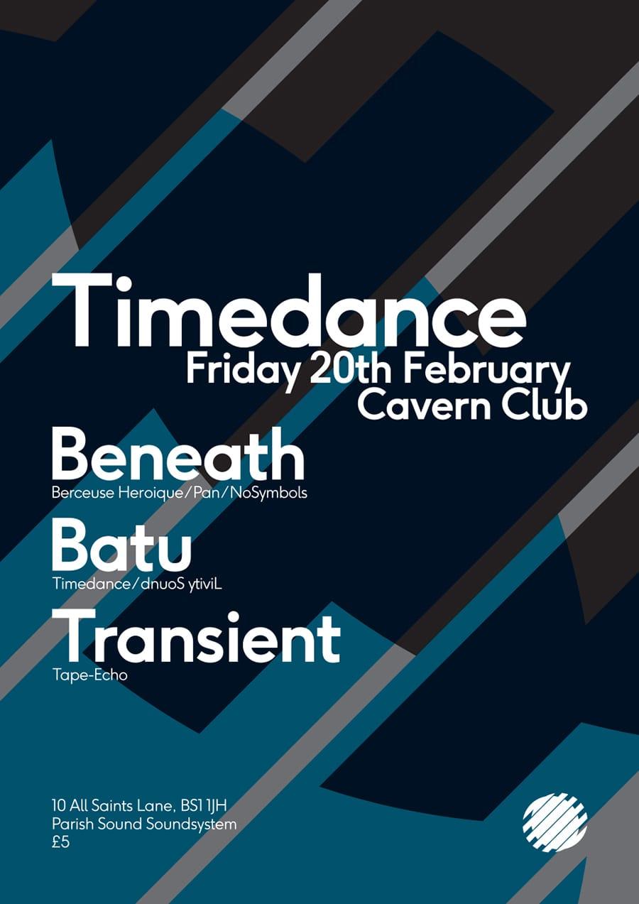 Poster: 20/02/2015 – Beneath, Batu, Transient