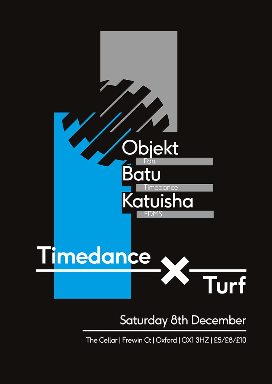Poster: 8/12/2015 – Oxford - Objekt, Batu, Katiusha