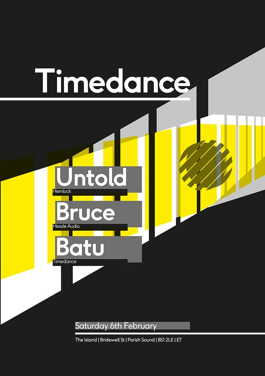 Poster: 6/02/2016 – Untold, Bruce, Batu