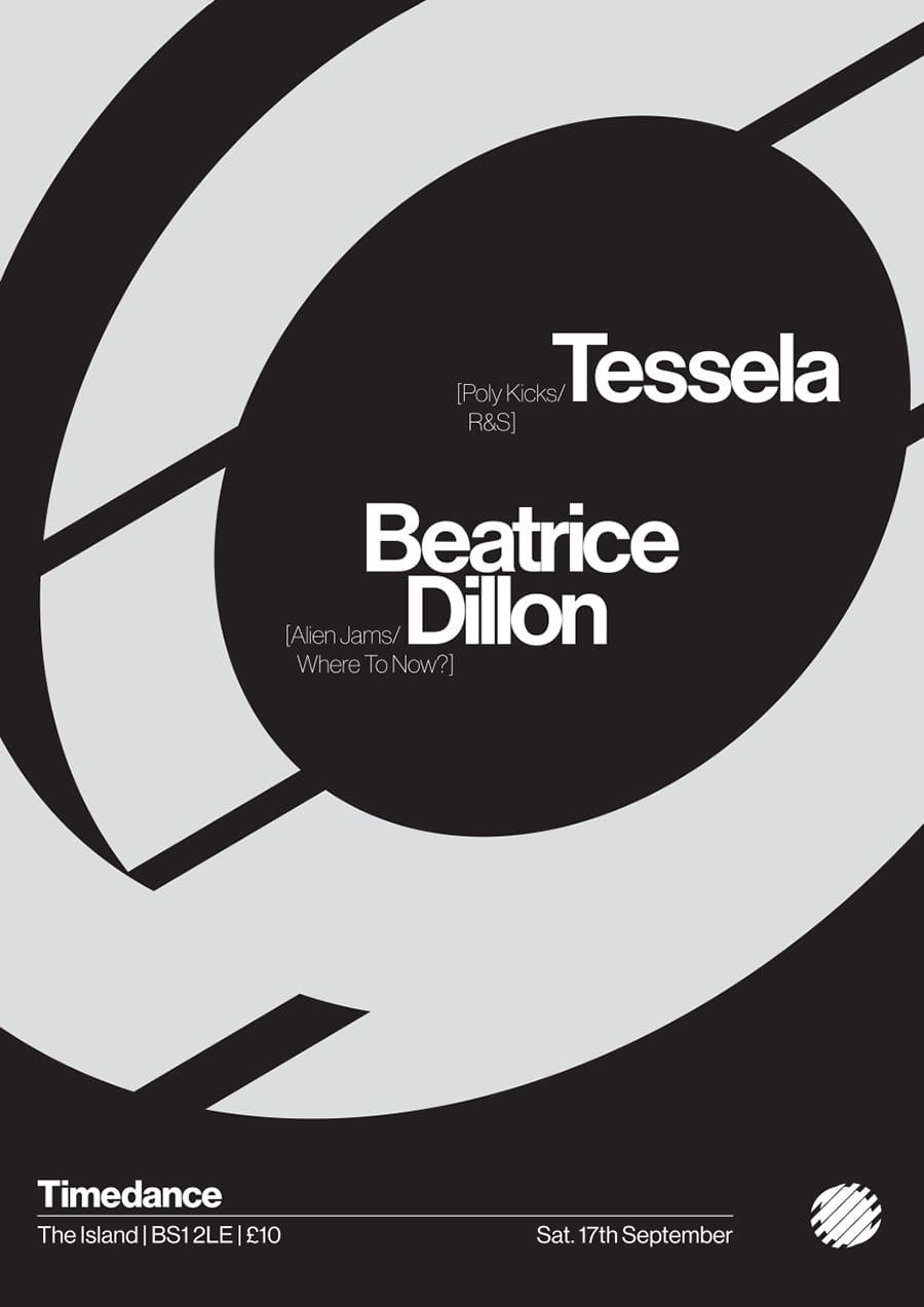 Poster: 17/10/2016 – Tessela, Beatrice Dillon