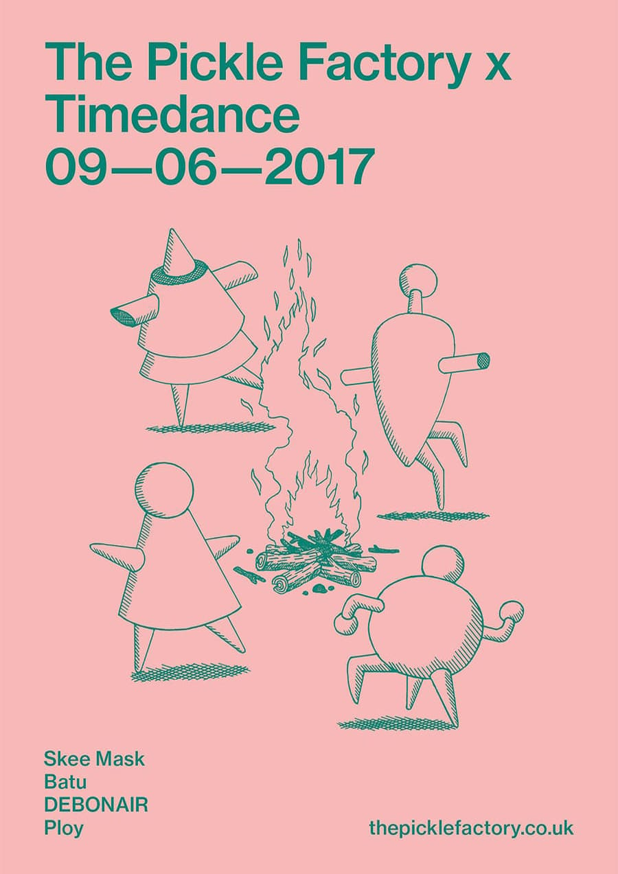 Poster: 09/06/2017 – The Pickle Factory x Timedance