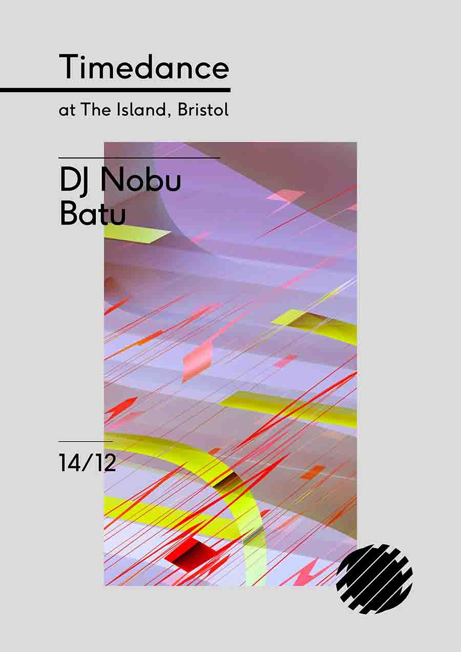 Poster: 14/12/2018 – Dj Nobu, Batu